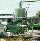 PIKO HO SCALE 1/87 SAND WORKS SILO & TRANSPORT BUILDING KIT | BN | 61125