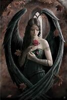 ANNE STOKES ANGEL ROSE (LAMINATED) POSTER (61x91cm) Fantasy Gothic NEW ART PRINT