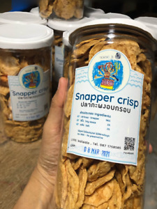 Snapper Crispy cereal Salad Breakfast Eating Porridge Topping  Snack Dried Yummy