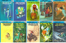 HARDY BOYS by Franklin W. Dixon MATCHING HARDCOVER Collection Set BOOKS 21-30!