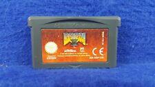 Gameboy Advance **DOOM II 2 Genuine Game Boy Cart GBA PAL UK