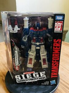 Hasbro Transformers Generations War for Cybertron Leader WFC-S13 Ultra Magnus...