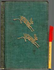 1945 1st Edition Children's Reader DASH and DART Mary & Conrad Buff BAMBI DEER