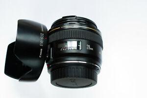 Canon EF 28mm f1.8 USM Weitwinkelobjektiv