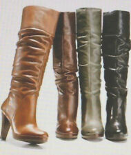 Matisse Boston Proper Knee High Fashion SCRUNCH LEATHER Thea Boots NEW $229 9 M