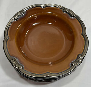 """(Set of 6) JCP Chris Madden for Home Collection JCP35 Soup Bowls - 9.5"""""""
