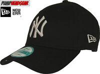 New Era 940 League Basic NY Yankees Adjustable Black Baseball Cap