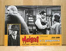 MAIGRET E I GANGSTER fotobusta poster affiche Jean Gabin Lognon et les gangsters