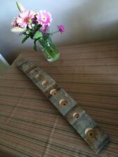 Authentic Wine Barrel Stave As Essential Oils Display Holder - FREE SHIPPING!