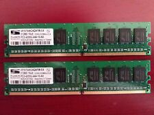 1 GB Kit (2x512 MB) DIMM PC2-4200U DDR2-533MHz 240-Pin CL4