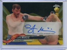 2018 Topps UFC Chrome STIPE MIOCIC Gold Refractor Auto Autograph #FA-SM #43/50