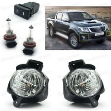 1Set Fog lights Driving Lamps Cover Switch for 2012-2013 Toyota Hilux / VIGO