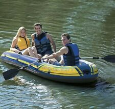 Intex Challenger 3 Boat, 3 Person Boat 9ft 8in x 4ft 6in