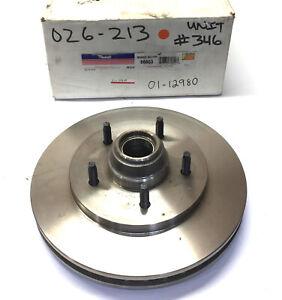 Raybestos Front Hub & Brake Rotor Assembly 66653 210762-C NOS