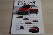 105015) Chrysler Voyager Dodge Caravan USA Prospekt 03/1995
