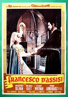 S01 Manifesto Francesco D'Assisi Bradford Dillman Dolores Hart Whitman 1
