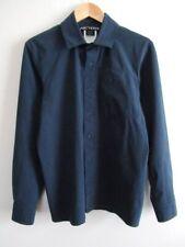 EUC Arcteryx Mens Lightweight Snap Buttoned Front Shirt w/ Zip Pocket Navy Sz S