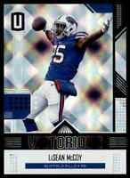 2018 UNPARALLELED VICTORIOUS LESEAN MCCOY BUFFALO BILLS #VT-LM INSERT