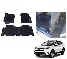 NEW 2013-2017 RAV4 Floor Liner Mat Black Rubber All Weather Genuine Toyota OEM