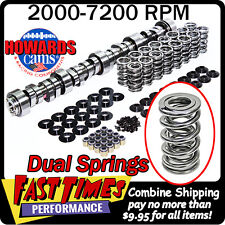 "HOWARD'S GM LS 281/284 578""/587"" 112° Cam Camshaft Dual Springs Cathedral Port"