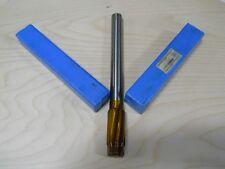 "Hannibal Carbide Tipped Reamer .9940X1.1250 11"" OAL .875 Shank 8 Flute"