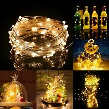Warm White Waterproof 5M LED Fairy String Lights DC Powered Indoor Party Decor
