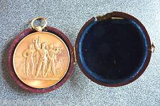 Médaille poinçon  bronze Arthus Bertrand diamètre 5 cm.R 7