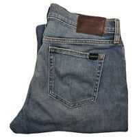 Quiksilver Size 33 x 32 Relaxed Fit Blue Denim Jeans Men's - MD03