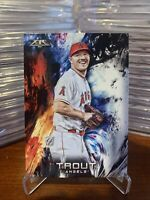 2018 Topps Fire Mike Trout Angels 100