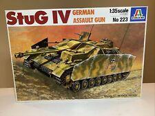 Italeri 1:35 Stug Iv Sturmgeschutz Iv L/48 Wwii German Assault Gun #223