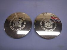 """(2) Only 3544650 Cadillac 1994-1997 Convex Center Cap 6 5/8"""" +/- Used OEM ABS"""