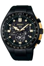Seiko Astron Limited Edition Mens Analogue Solar GPS Watch with Silicone Stra...