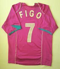 29002b59b8 4/5 Camisa De Futebol Figo Portugal Pequeno 2004 2006 Camisa De Futebol  Nike ig94