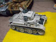 T.Gunn Snow camo Panzer with figure