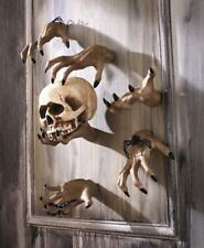 Halloween Spooky Scary Creepy Hand Wall Hanger Sculpture Clawing Grabbing Decor