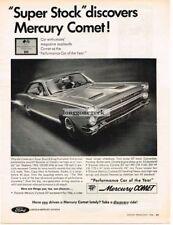 1966 Mercury Comet Performance Car Of The year Automobile Car Vtg Print Ad