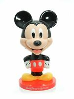"Walt Disney World Resort Kellogg Mickey Mouse bobble head plastic 8"" tall"