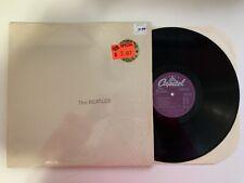 THE BEATLES - The Beatles - Capitol SWBO-101 - Gatefold Cover Set of 2 Vinyl LPs