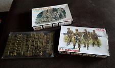 Dragon Models Marine Recon Plastic Army Nam Series, DML US Ranger & Accessories