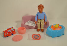 "Dora Explorer 5.5"" Dad Father Papi Figure House Furniture Accesories Couch Table"