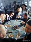 "James Bennett ""Know when to Fold them"" Poker Art Print 18 x 24"