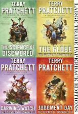 Terry Pratchett SCIENCE OF DISCWORLD Fantasy Series Collection PAPERBACKS 1-4
