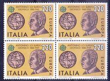 Italy MNH Blk 4, Antonino Lo Surdo, Physicist, Discovered Stark-Lo Surdo  -  S13