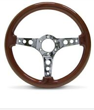 SAAS Logano Wood 14 Inch 350mm Steering Wheel - ADR Approved Brand NEW