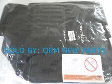 2015-2018 Nissan Murano Carpet Floor Mats Genuine 3pc set Black pn 999E2C3000