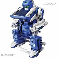 3-in-1 Assembly Solar Powered Robotic Kit Robot  Education Mechanical Tool