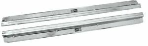 NEW 1978-1987 Regal & Grand National Sill Scuff Plates w/ Body By Fisher Tag