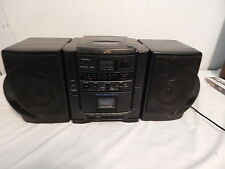 Vintage JVC boombox PC-X55  CD Compact Disc Cassette  Am/FM Works Nicely