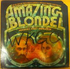 AMAZING BLONDEL mulgrave street 2 LP Mint- DJLP 701 Vinyl 1974 Record