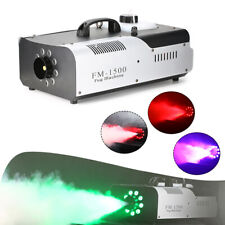1500W DMX Nebelmaschine Fogger LED RGB Lichteffekt Fog Smoke Maschine Nebler DEU